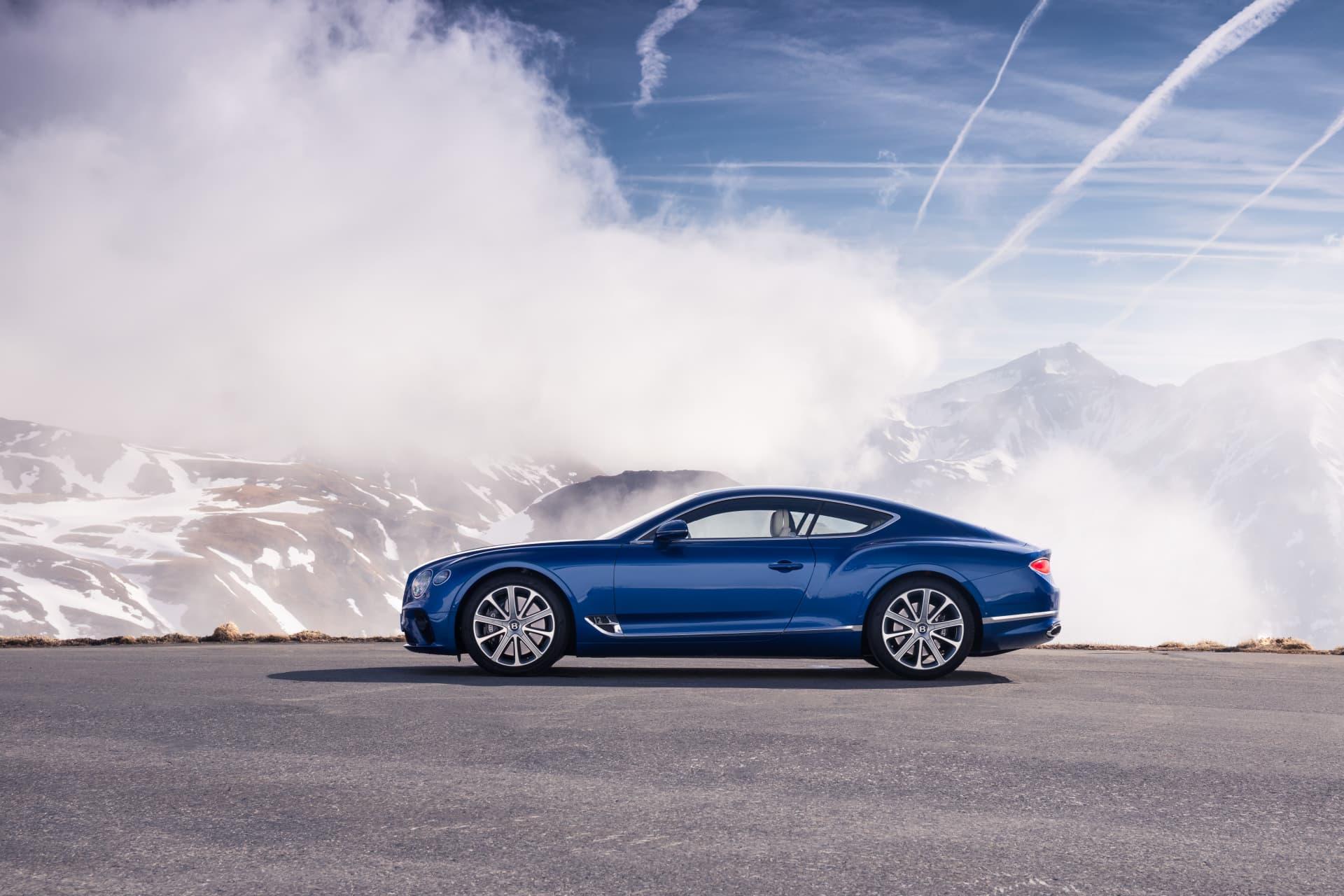 Bentley Continental Gt Sequin Blue 24