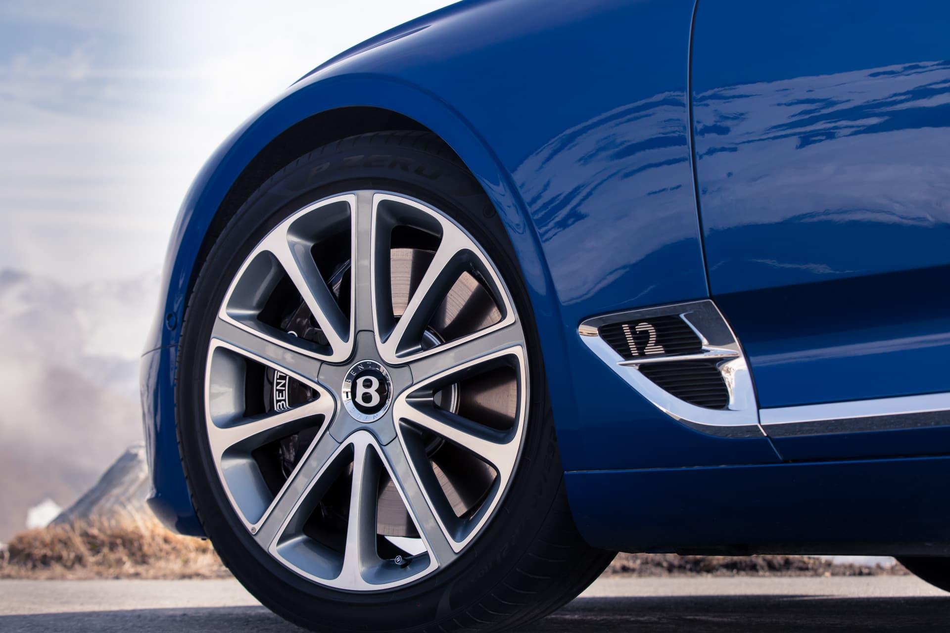 Bentley Continental Gt Sequin Blue 25