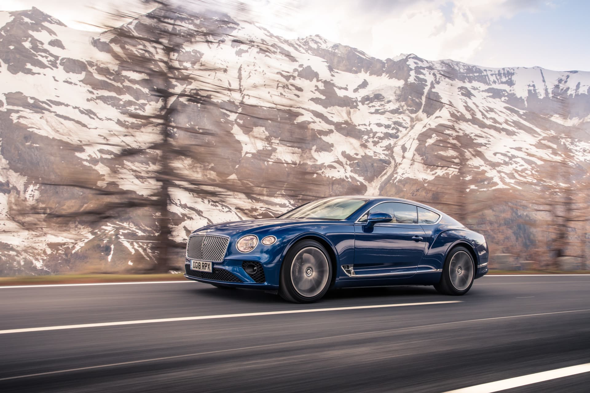Bentley Continental Gt Sequin Blue 3