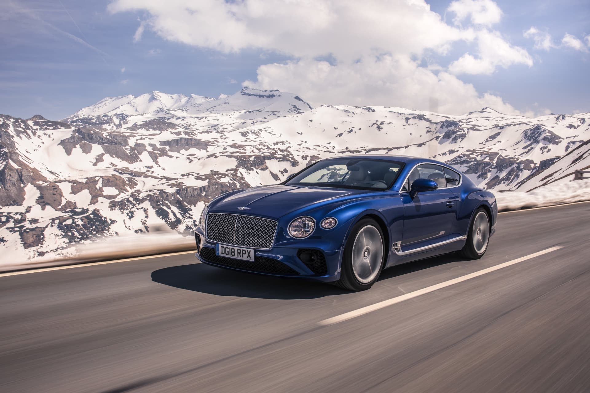 Bentley Continental Gt Sequin Blue 5