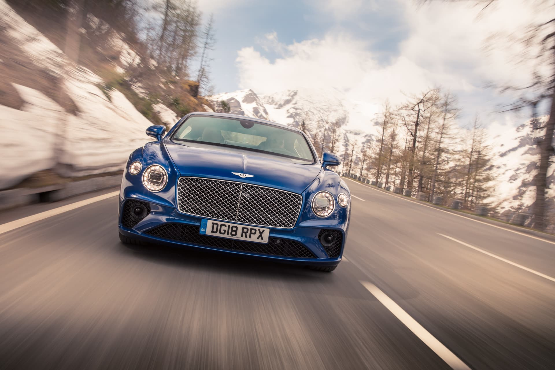 Bentley Continental Gt Sequin Blue 7