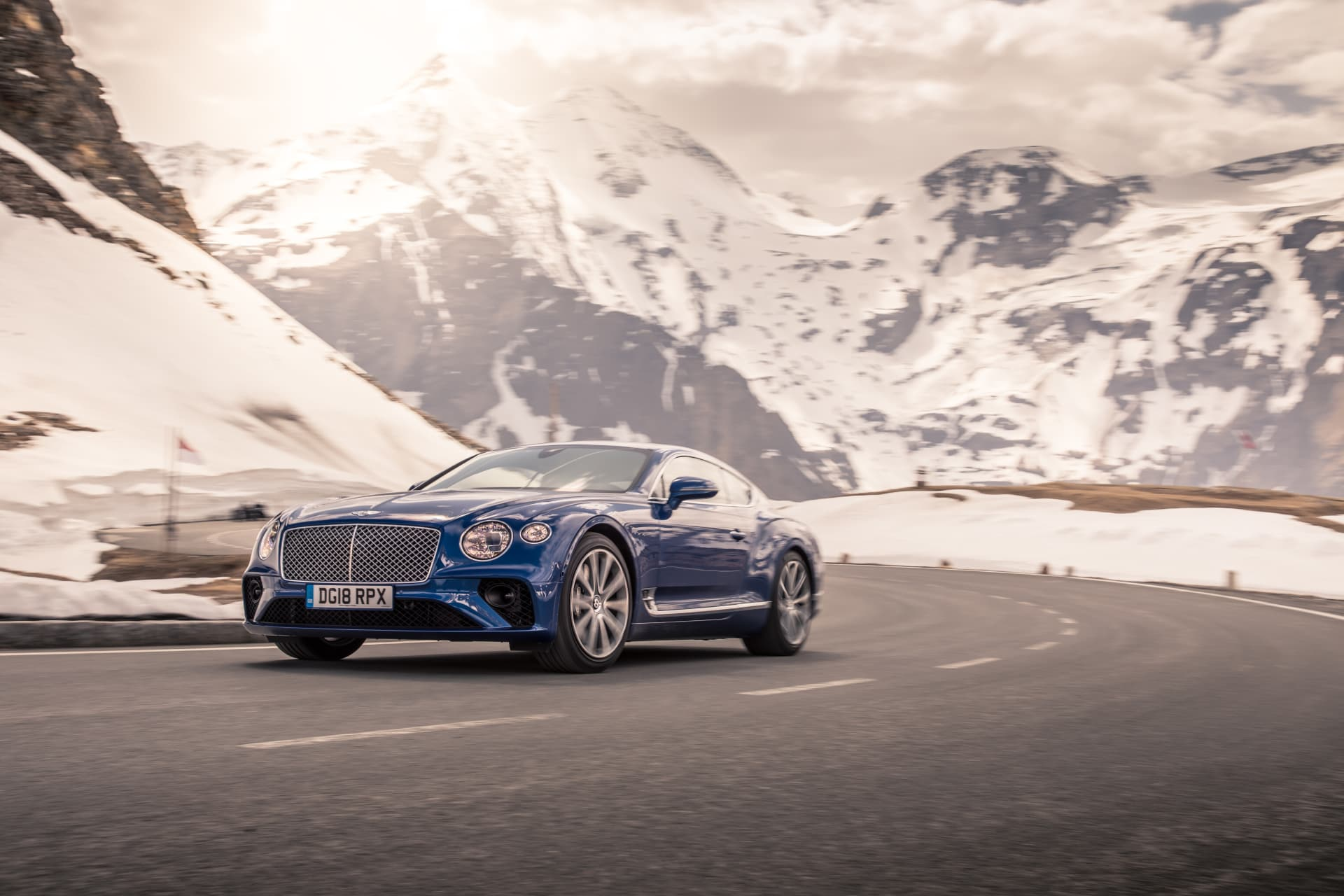 Bentley Continental Gt Sequin Blue 8