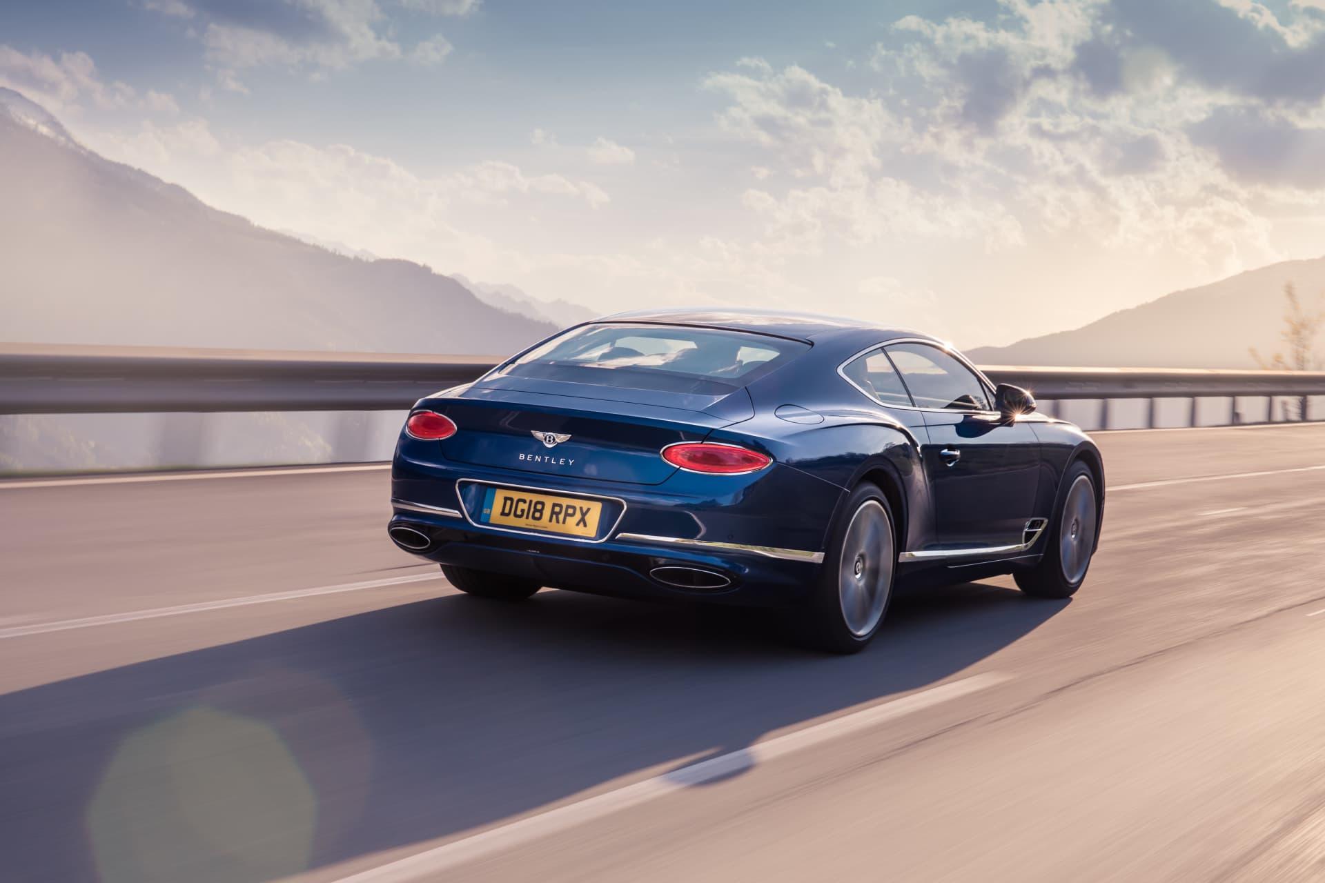 Bentley Continental Gt Sequin Blue 9
