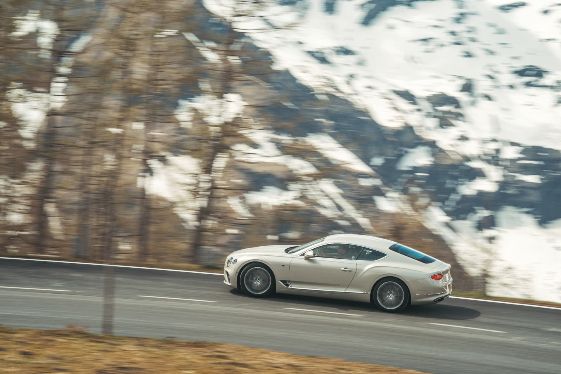 Bentley Continental Gt White Sand 8