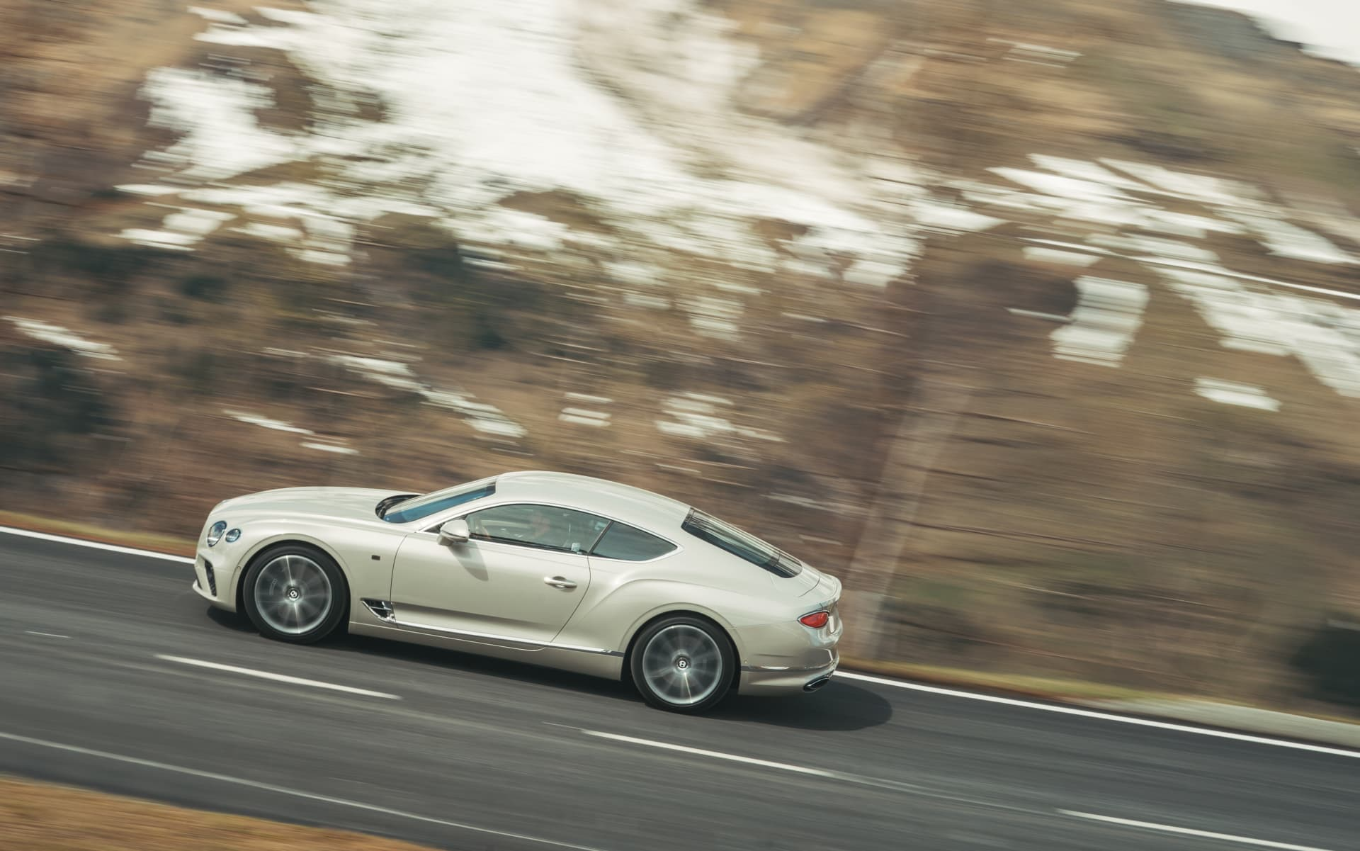 Bentley Continental Gt White Sand 9