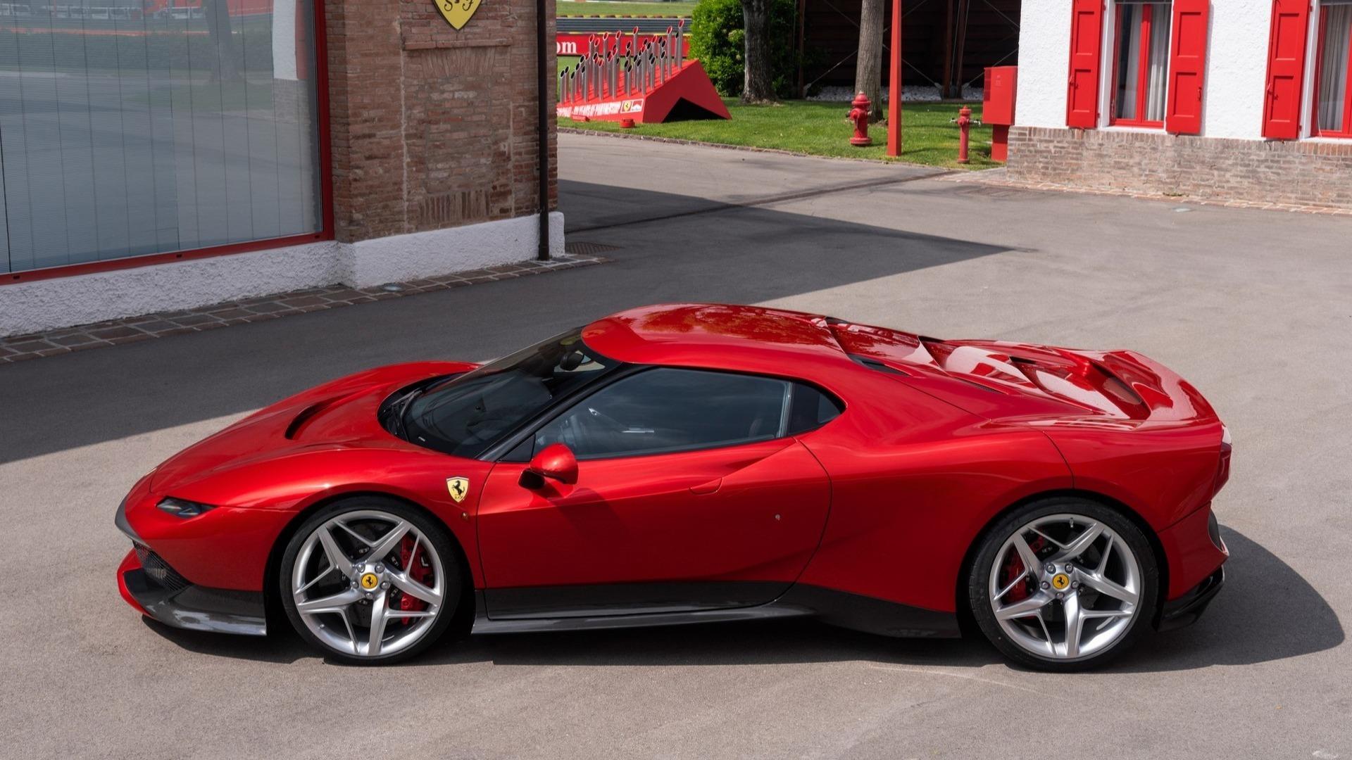 Ferrari Sp38 One Off 3