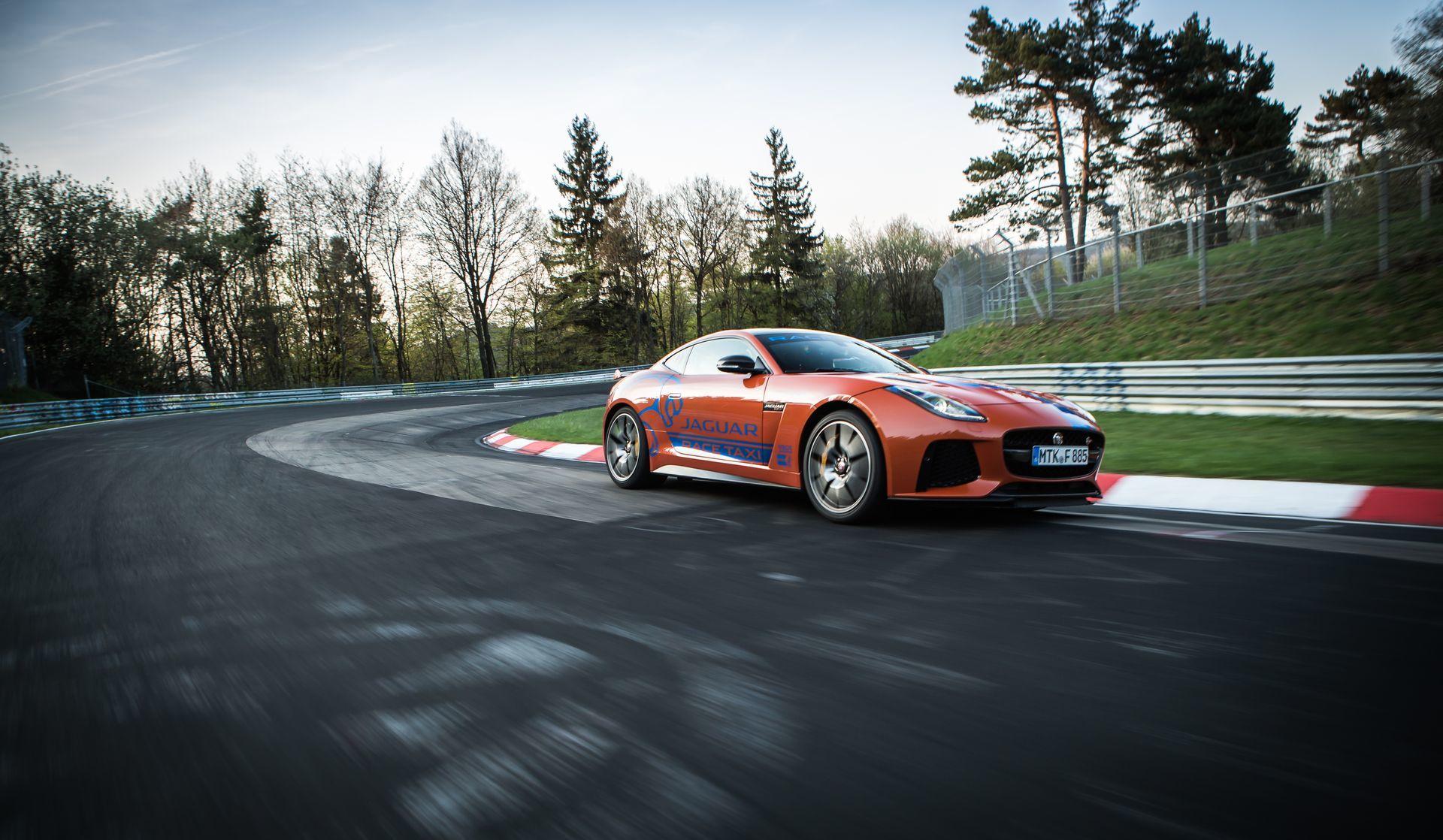 Jaguar Race Taxi Nurburgring 1