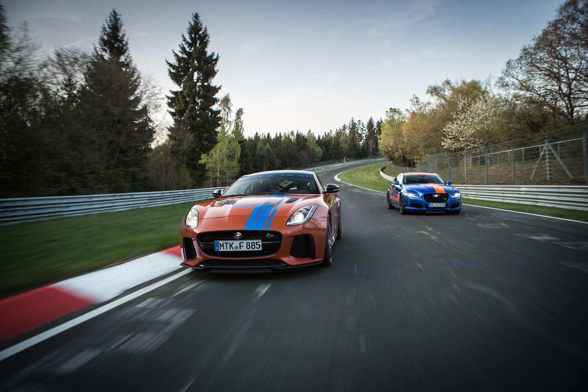 Jaguar Race Taxi Nurburgring 3