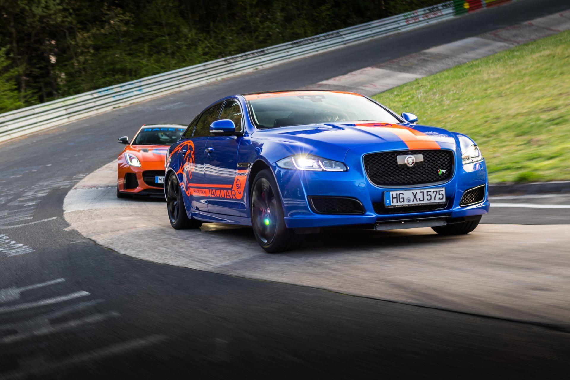 Jaguar Race Taxi Nurburgring 6
