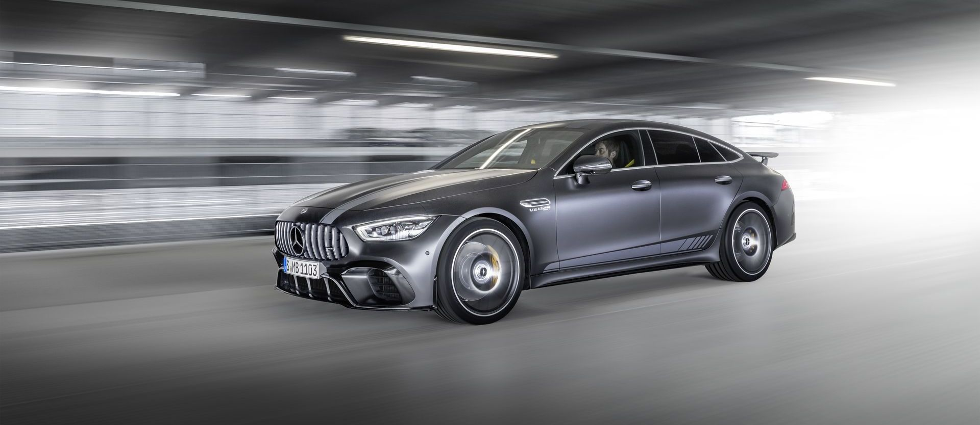 Die Neue Mercedes Amg Gt 63 S 4matic+ Edition 1: Noch Mehr Individualität Für Das Amg Gt 4 Türer Coupé