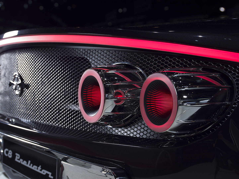 Spyker Koenigsegg Motor Coches V8 07