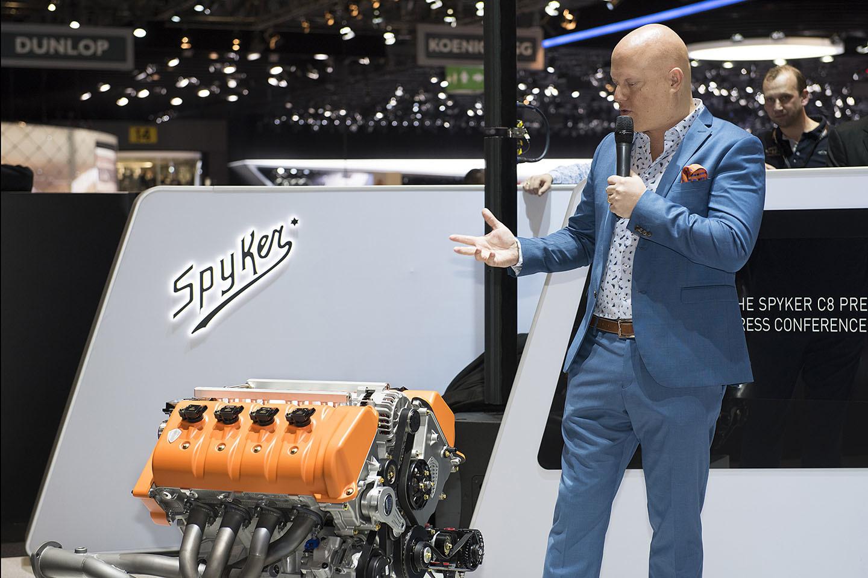 Spyker Koenigsegg Motor Coches V8 12