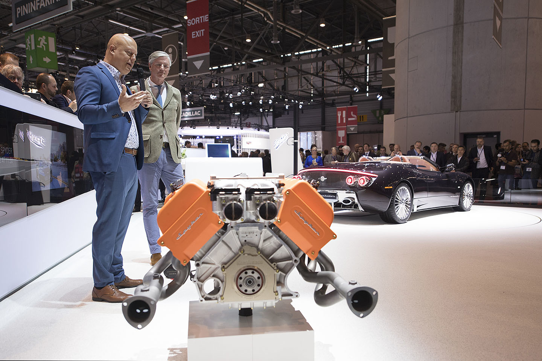 Spyker Koenigsegg Motor Coches V8 15