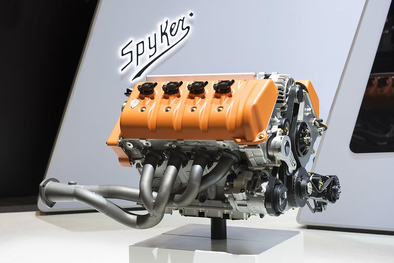 Spyker Koenigsegg Motor Coches V8 17