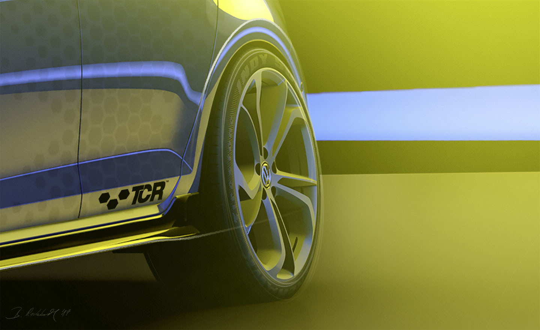 Volkswagen Golf Gti Tcr 2018 Adelanto 01