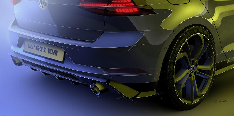 Volkswagen Golf Gti Tcr 2018 Adelanto 02