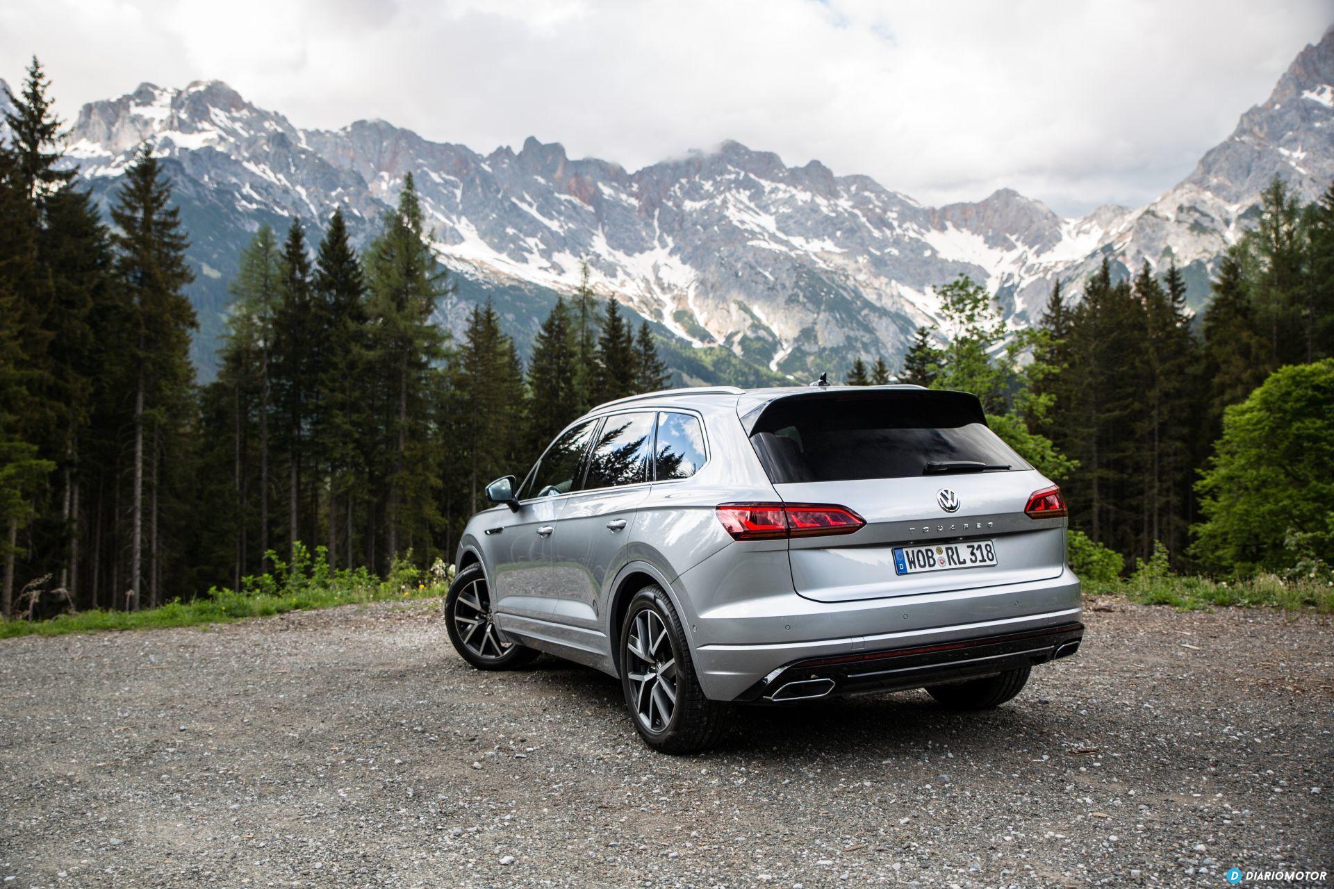 Volkswagen Touareg 2018 Prueba 3