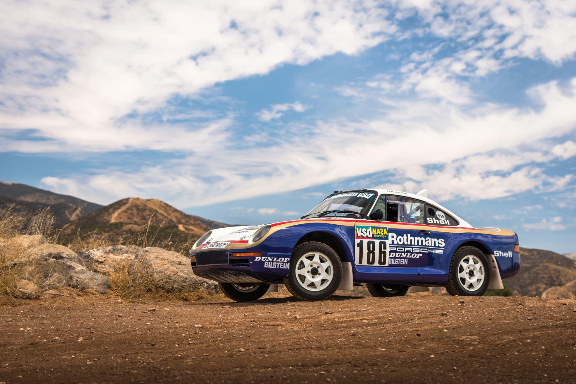 1985 Porsche 959 Paris Dakar 0