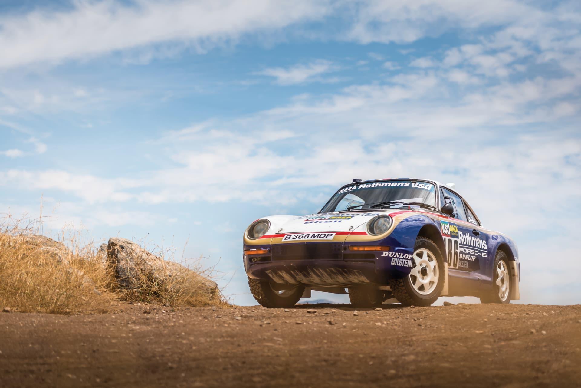 1985 Porsche 959 Paris Dakar 31