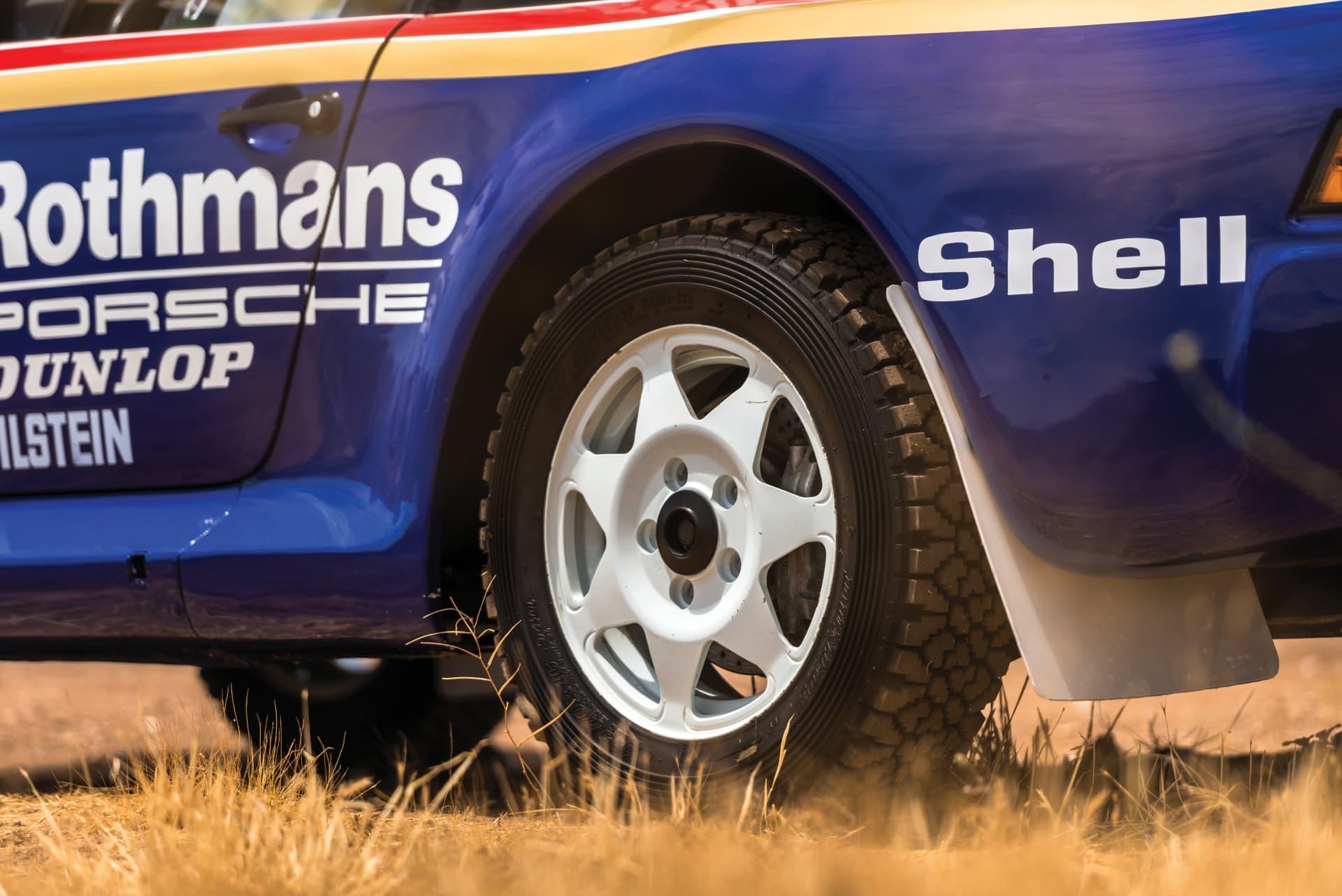 1985 Porsche 959 Paris Dakar 34