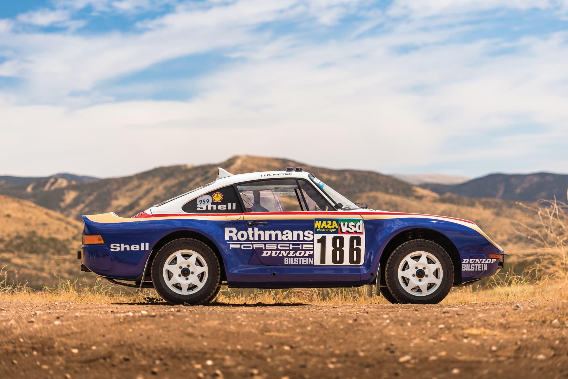 1985 Porsche 959 Paris Dakar 4