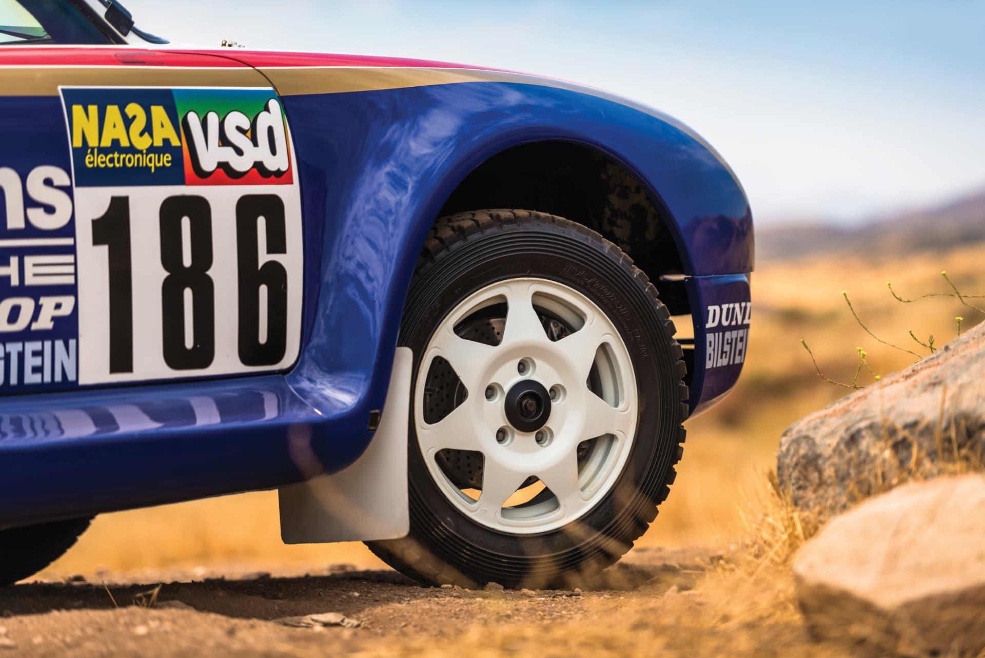 1985 Porsche 959 Paris Dakar 6