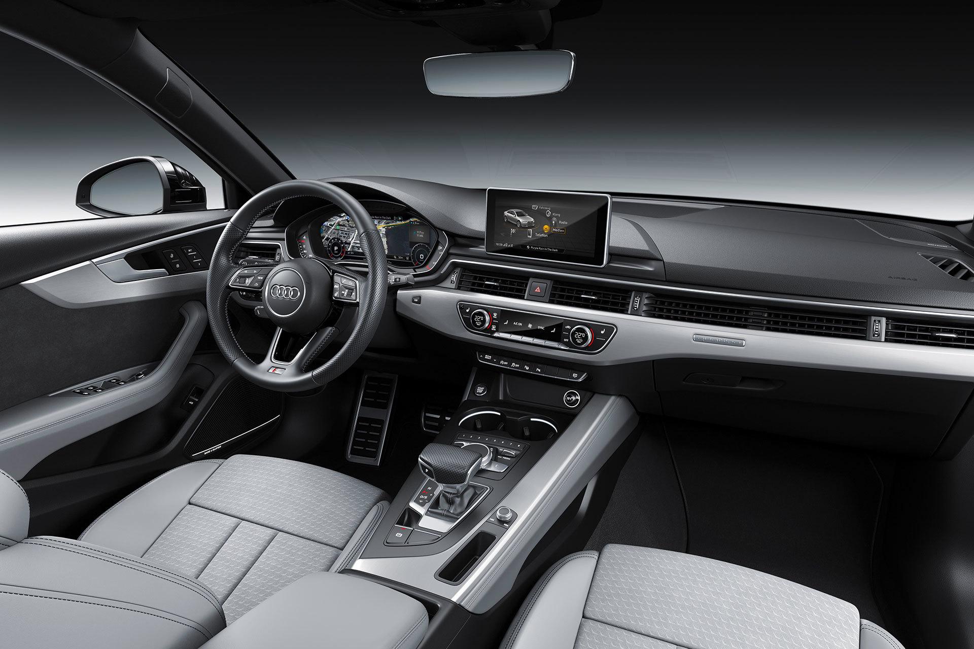 Audi A4 2018 12