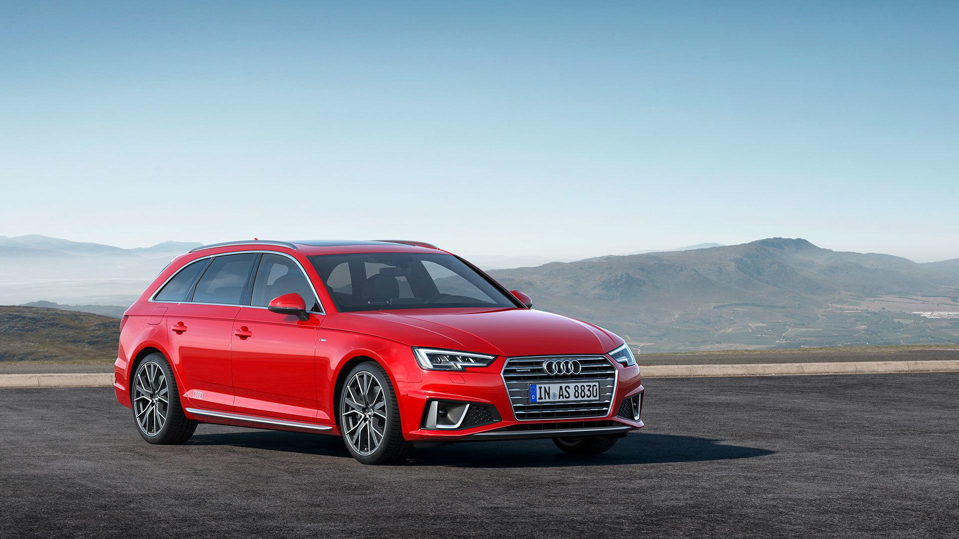 Audi A4 Avant 2018 17
