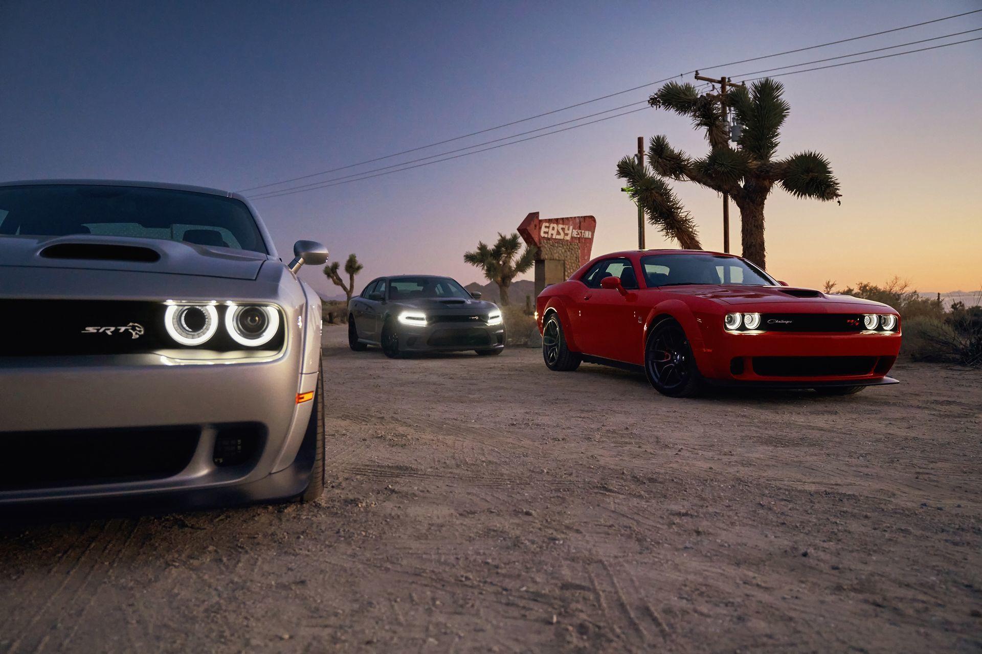 Satan Es Mi Senor Saludad Al Dodge Challenger Srt Hellcat Redeye Y Sus 808 Cv De Furia Concentrada Diariomotor