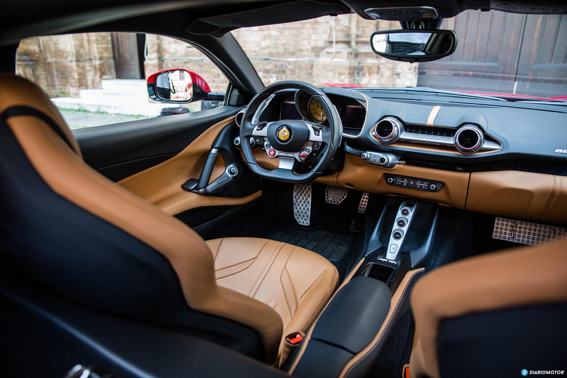 Ferrari 812 Superfast Interior 00015