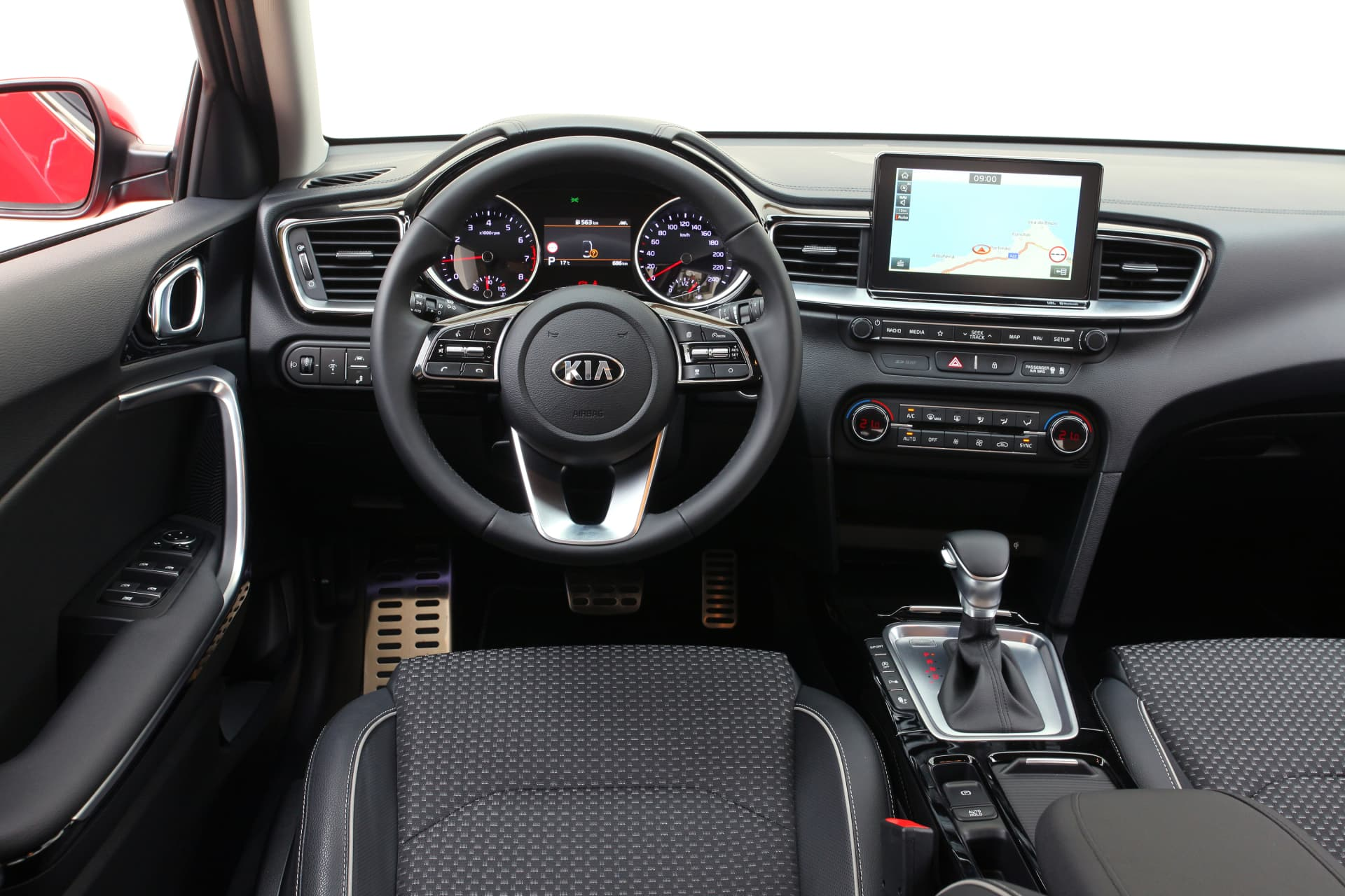 Kia Ceed 1 4 T Gdi 7 Dct Transmission 140hp Track Red 27