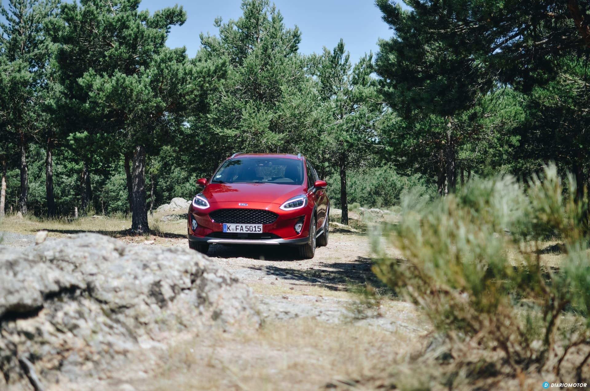 Ford Fiesta Active Prueba 5