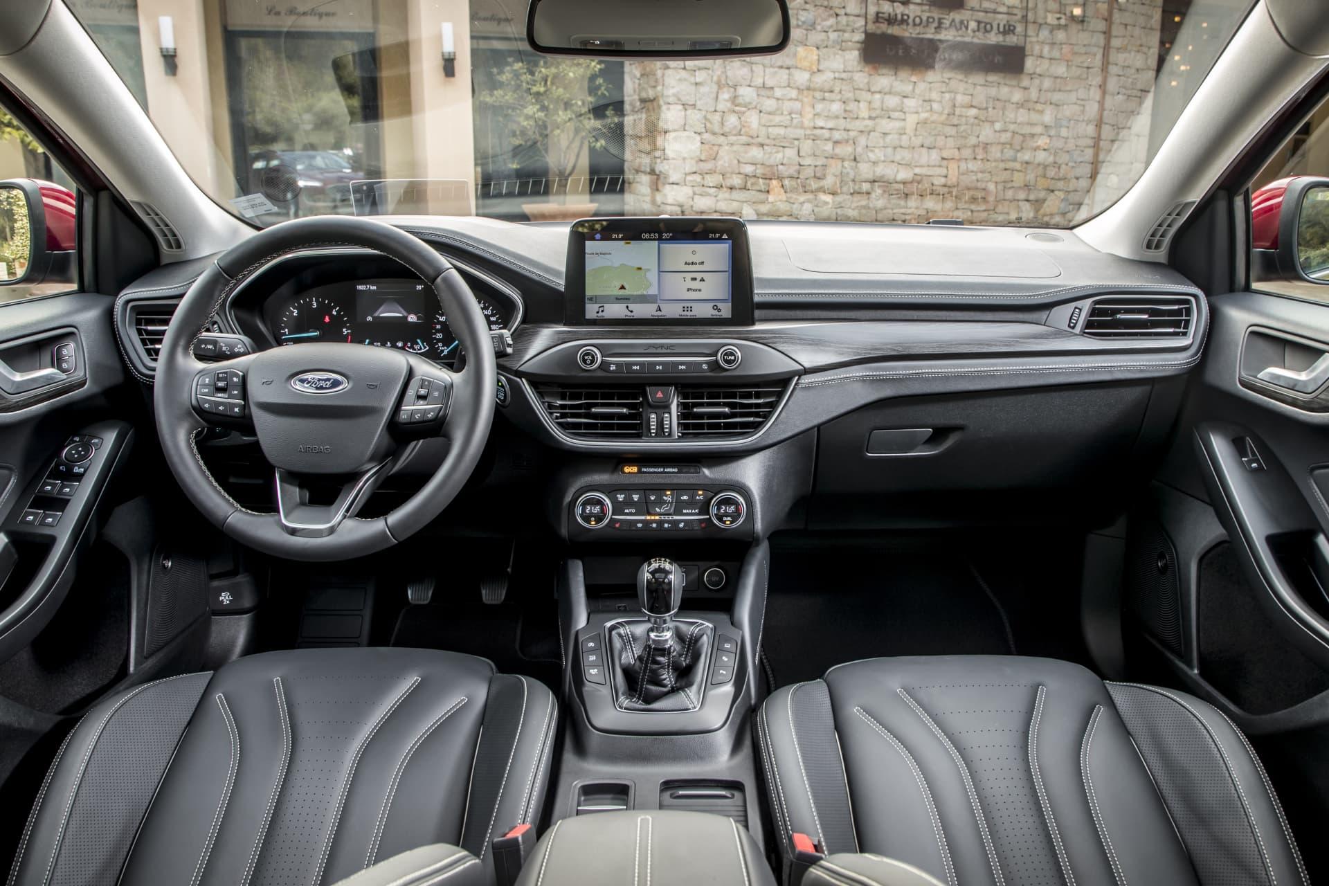 Ford Focus Vignale Prueba 00045