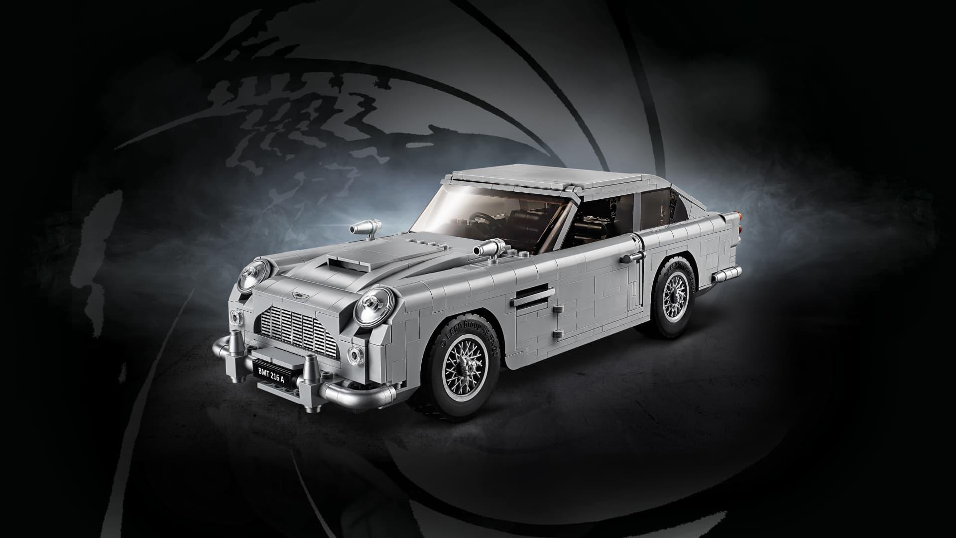 Lego Aston Martin Db5 Dm 5