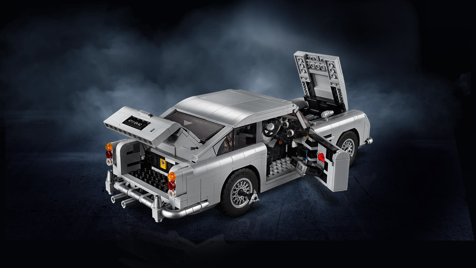 Lego Aston Martin Db5 Dm 7