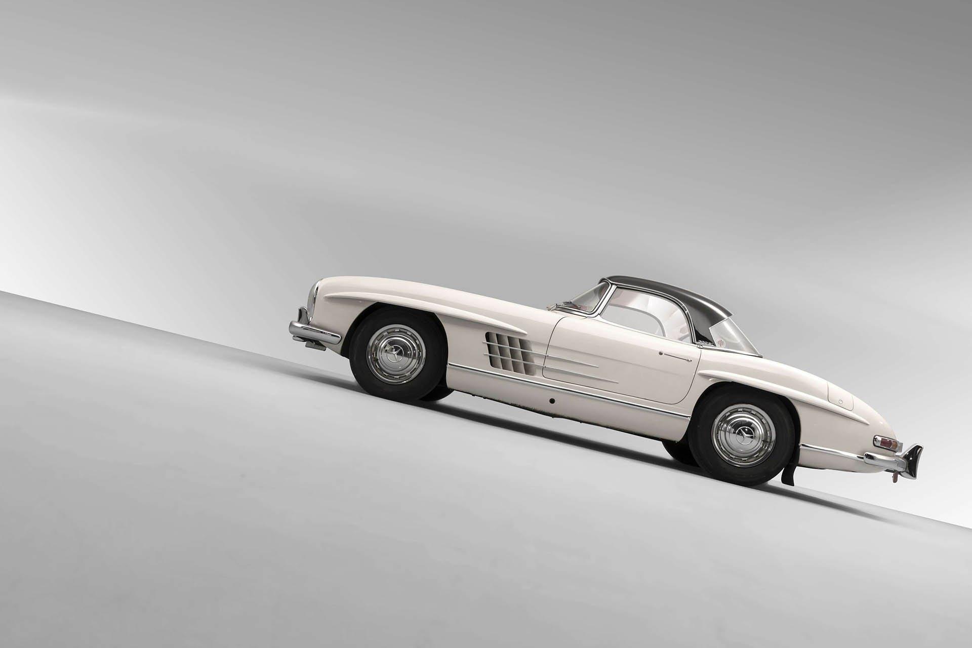 Mercedes 300 Sl Roadster Subasta 28