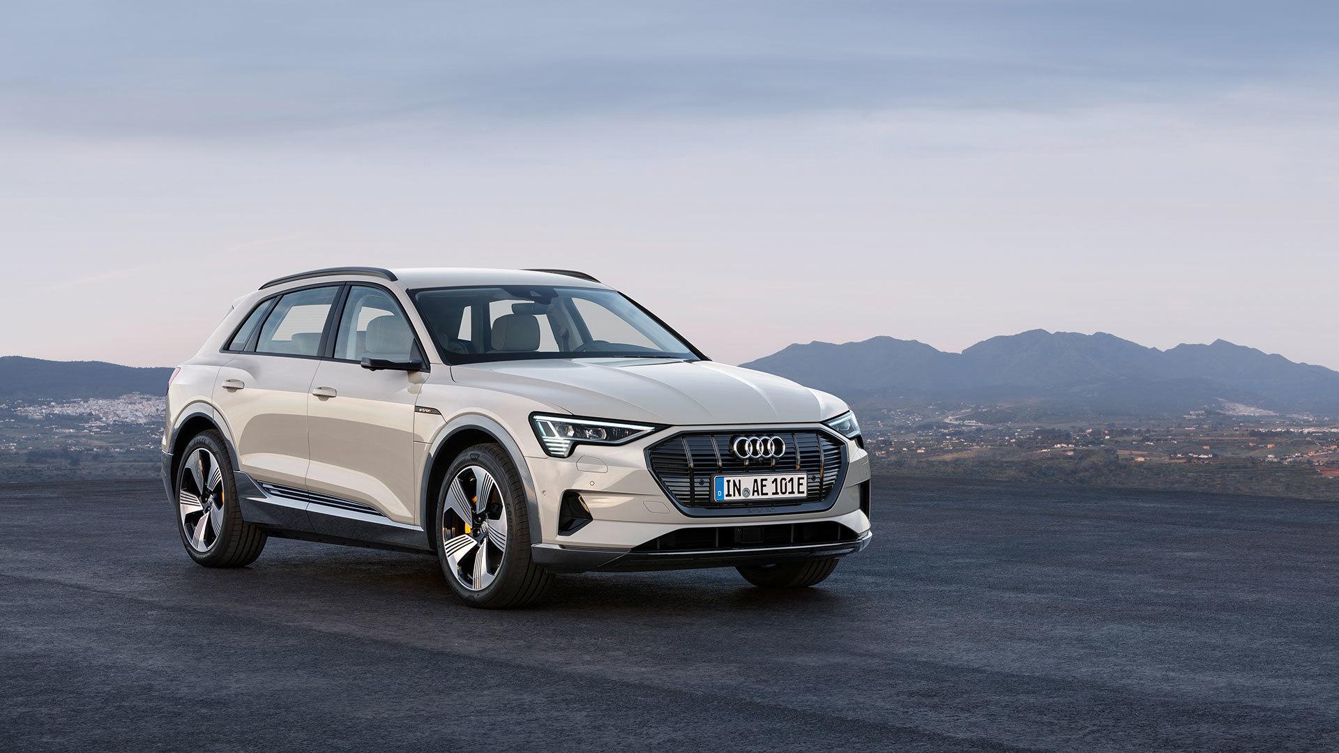 Audi E Tron 2018 16