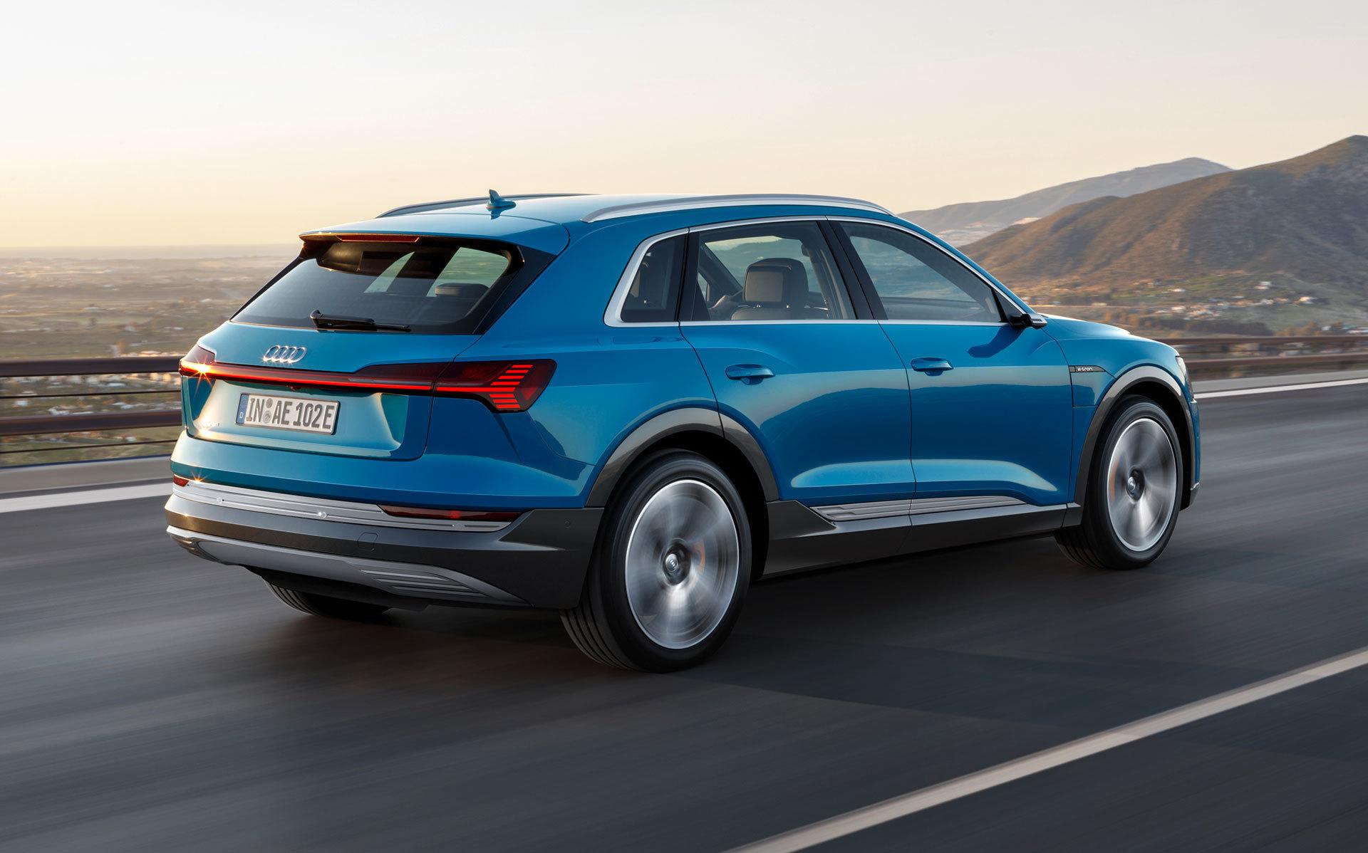 Audi E Tron 2018 22