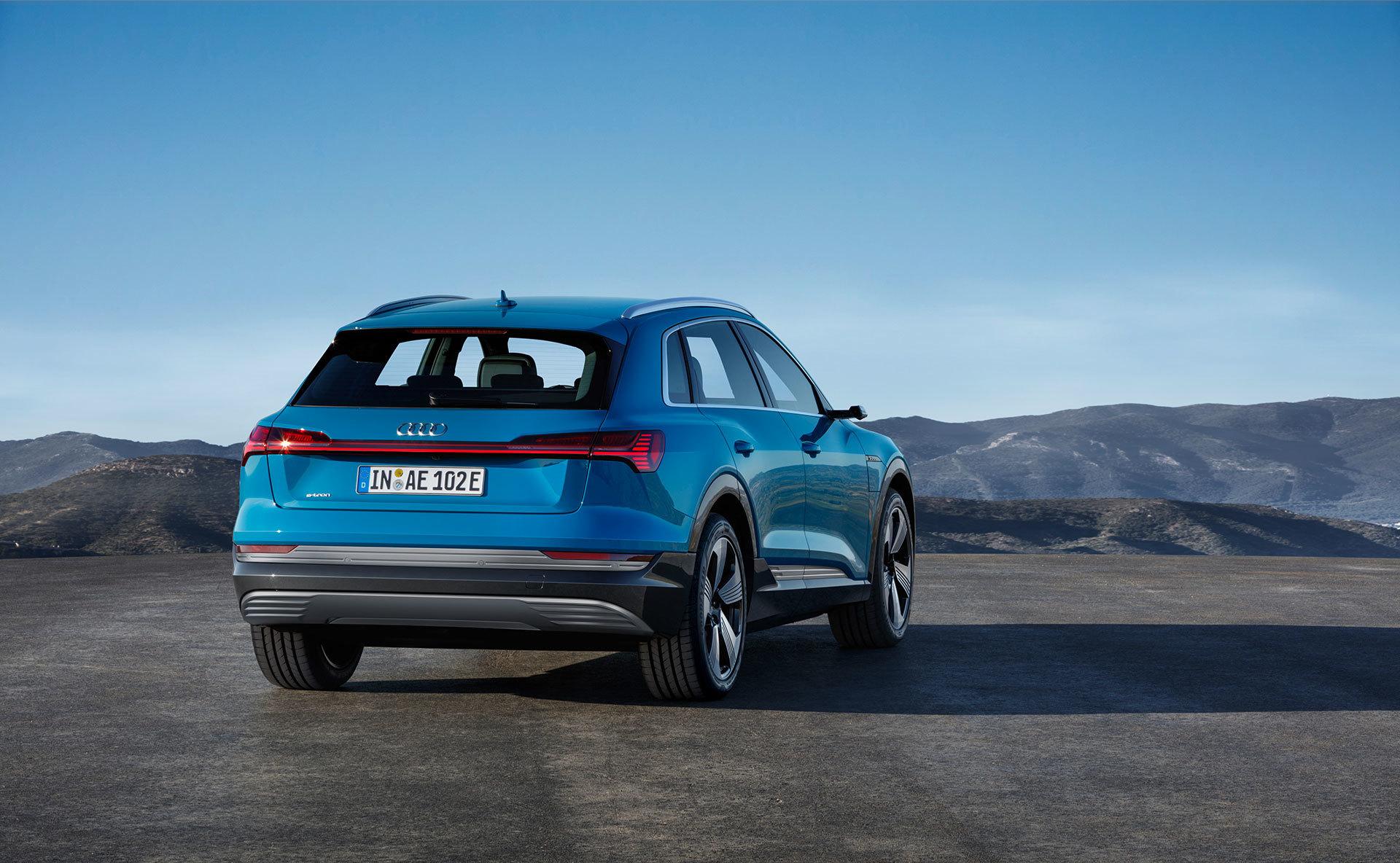 Audi E Tron 2018 24