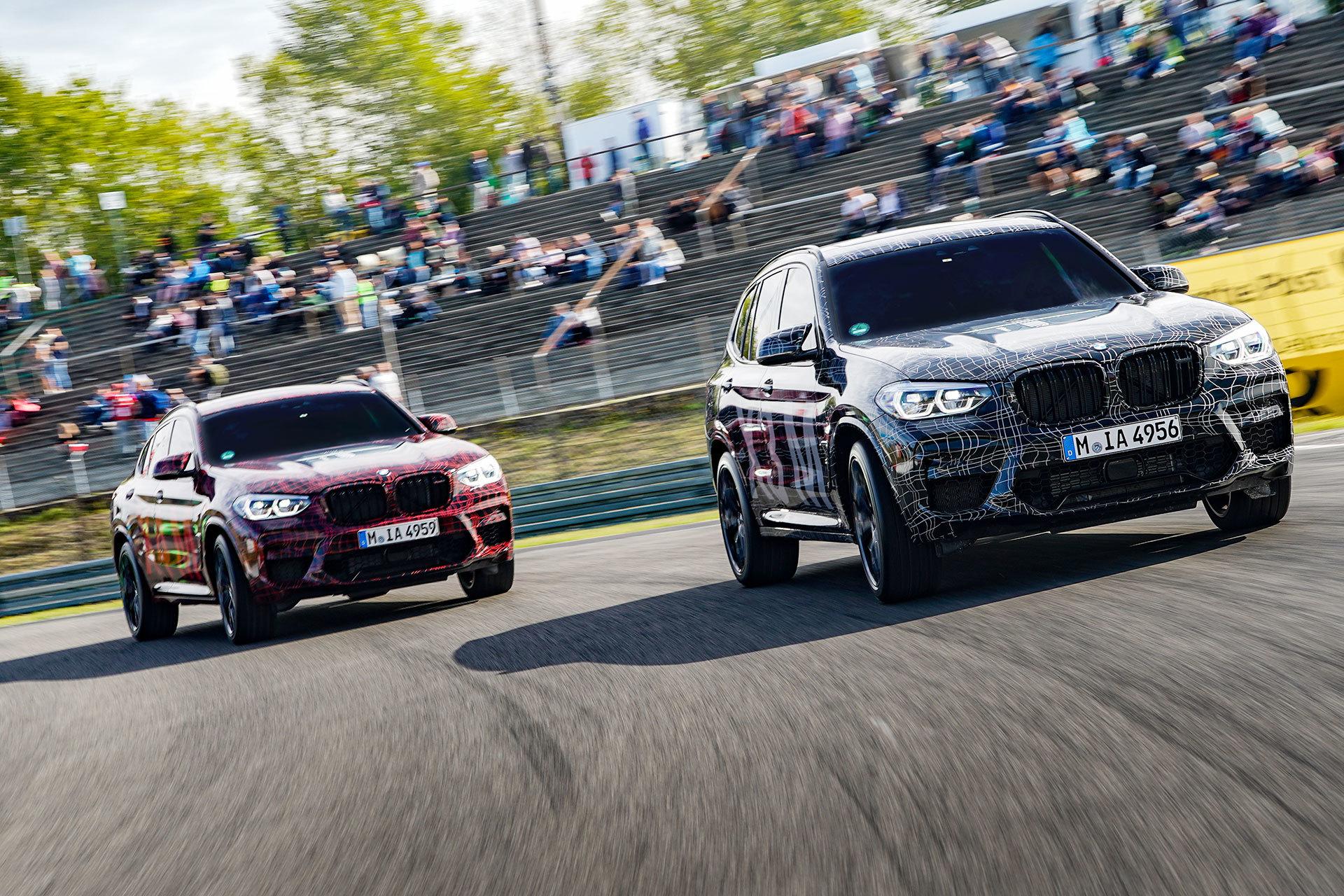 Bmw X3 M X4 M Nurburgring Adelanto 41