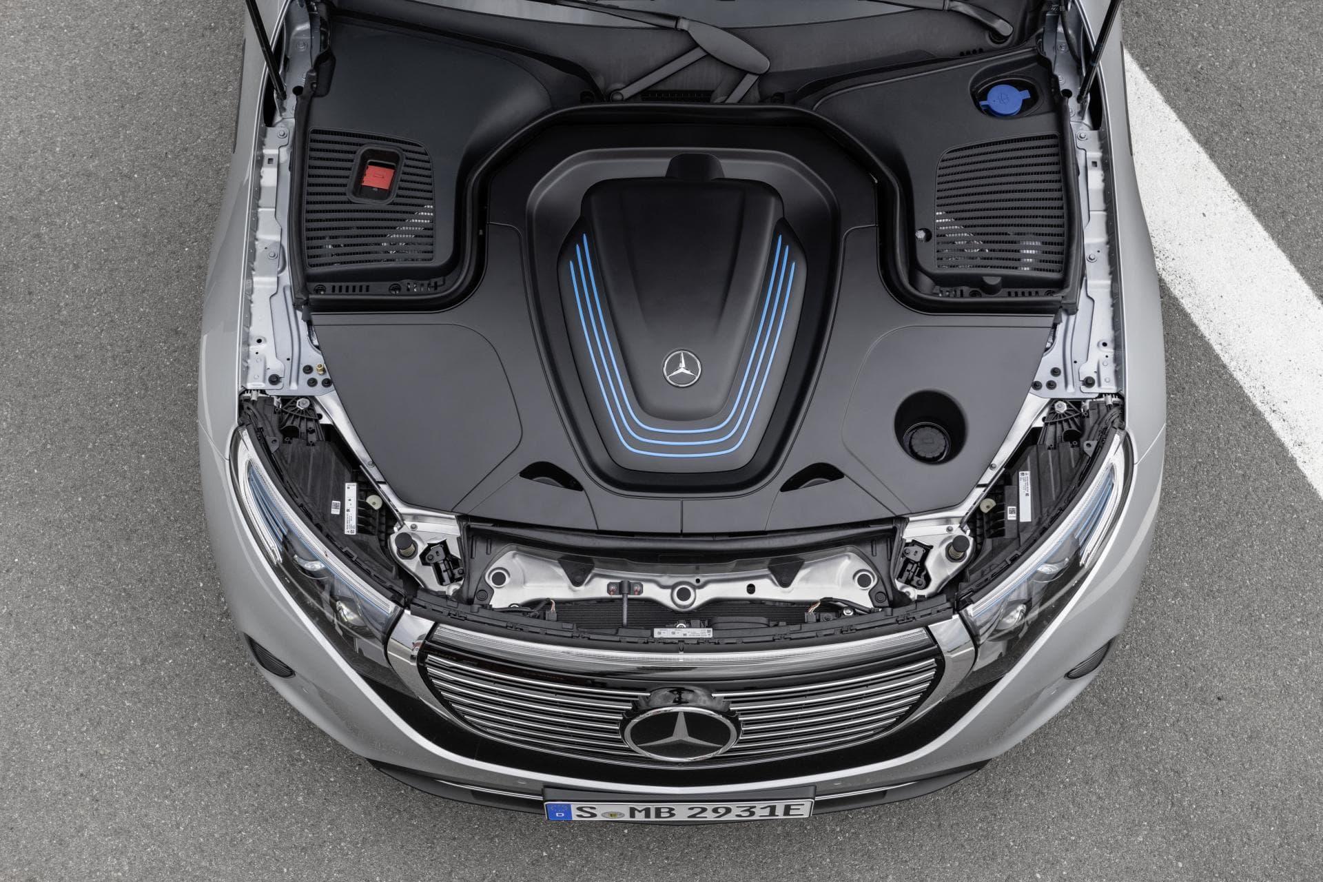 Por qué el Mercedes EQC no tiene maletero delantero como otros tantos coches eléctricos