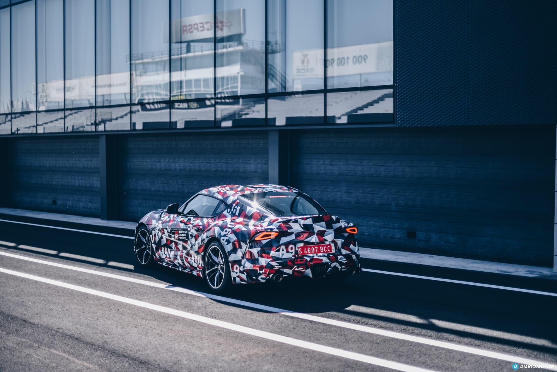 Toyota Supra Prueba 1