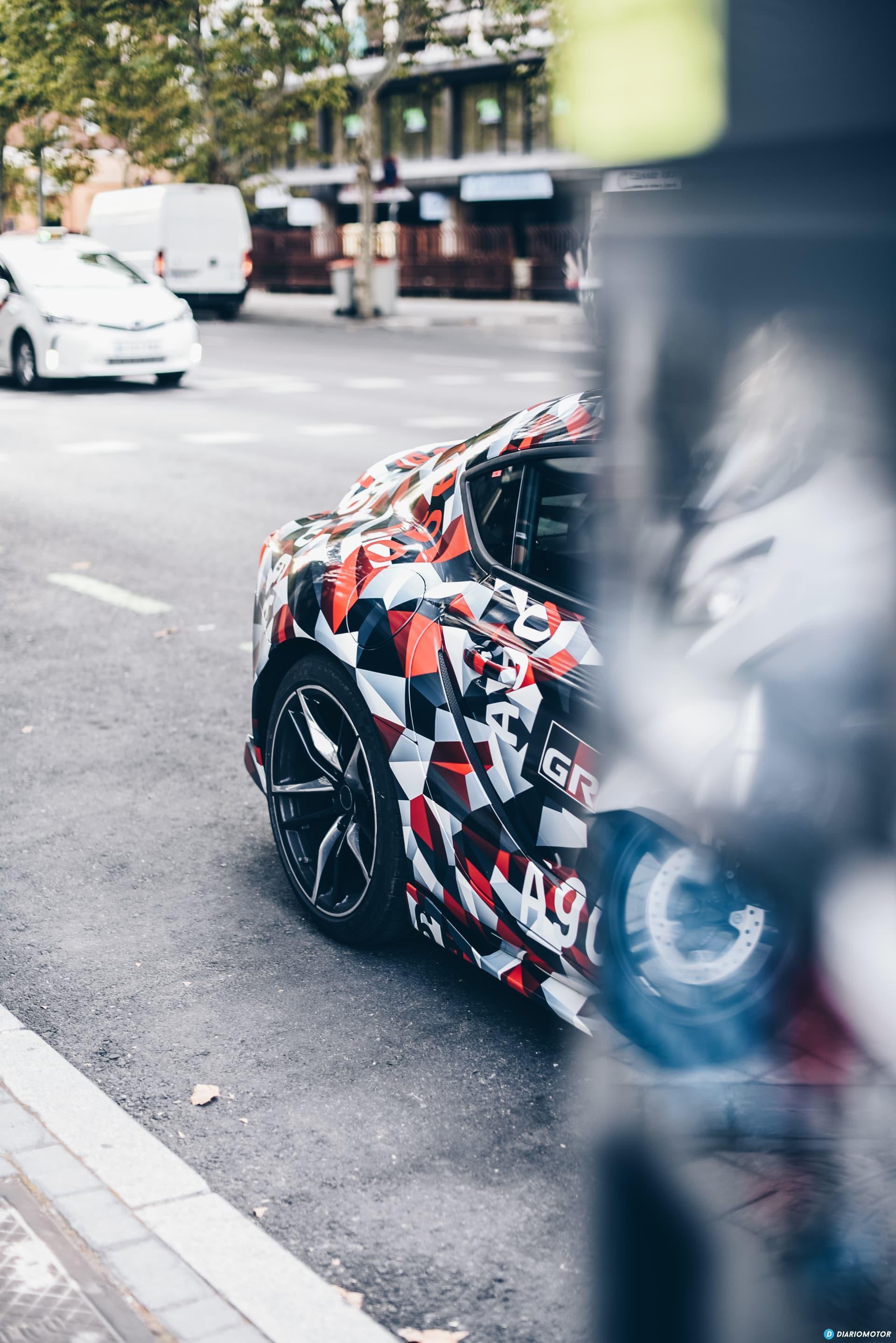 Toyota Supra Prueba 35