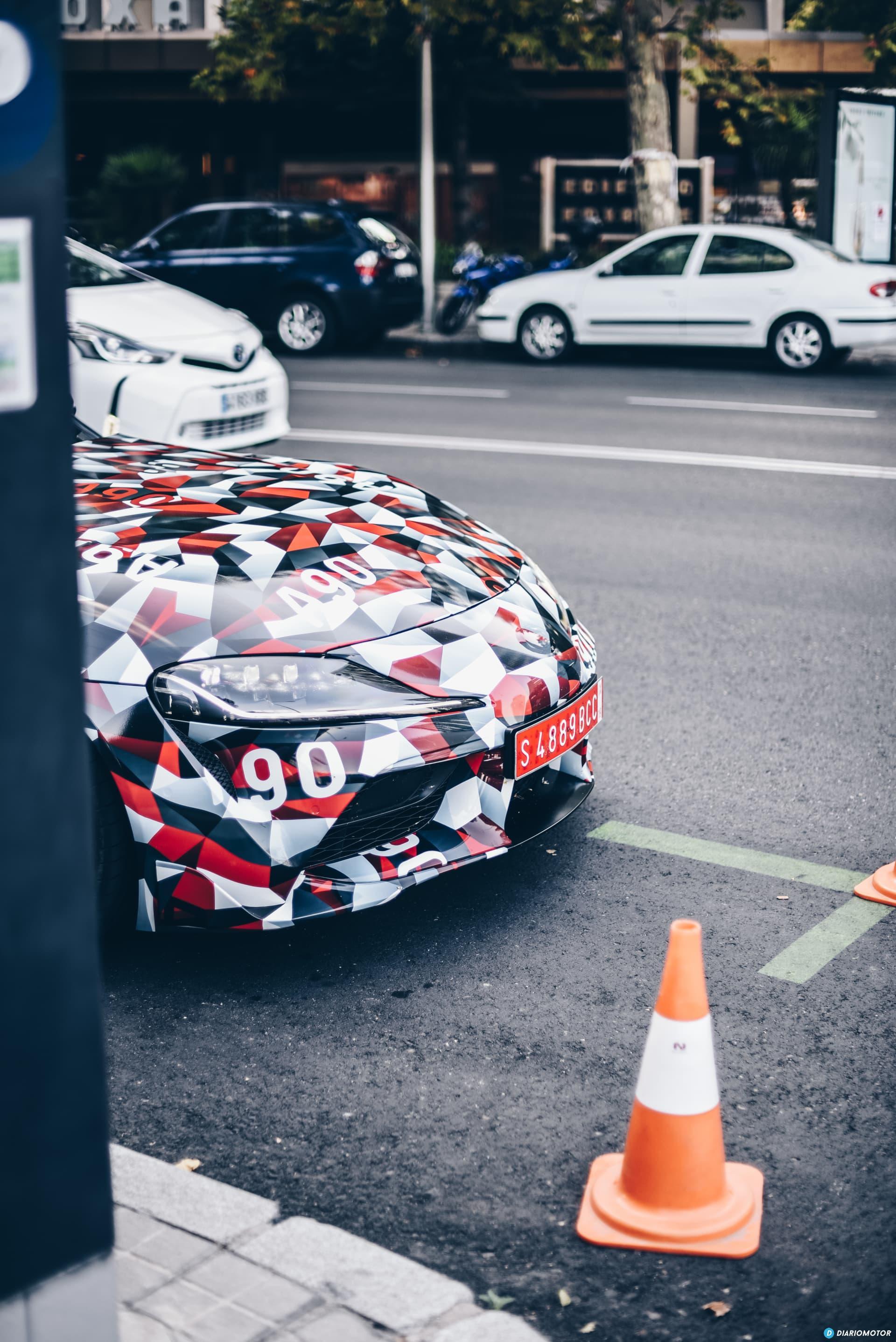 Toyota Supra Prueba 36