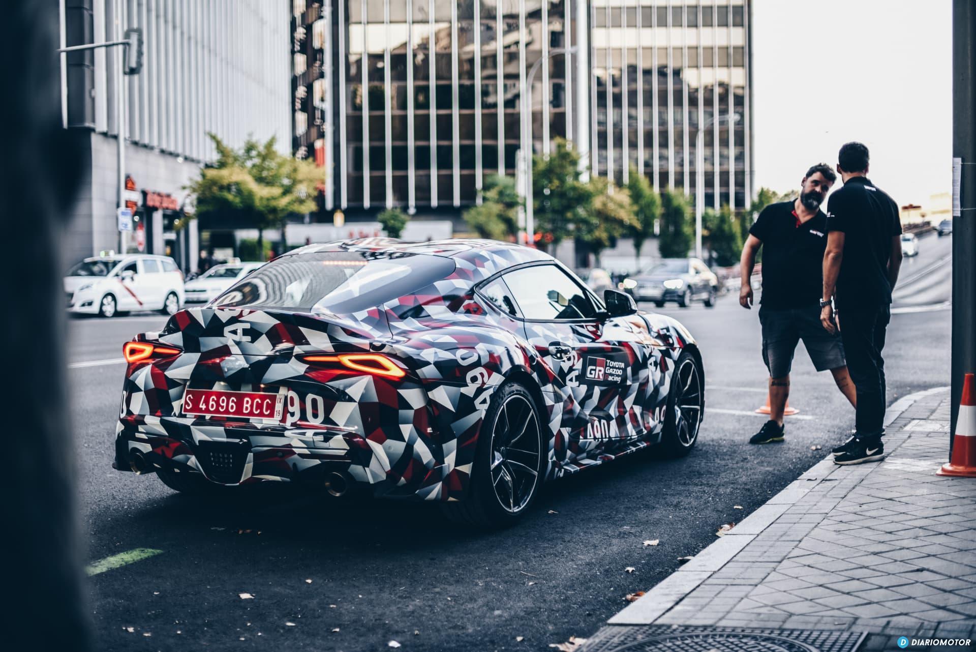 Toyota Supra Prueba 38