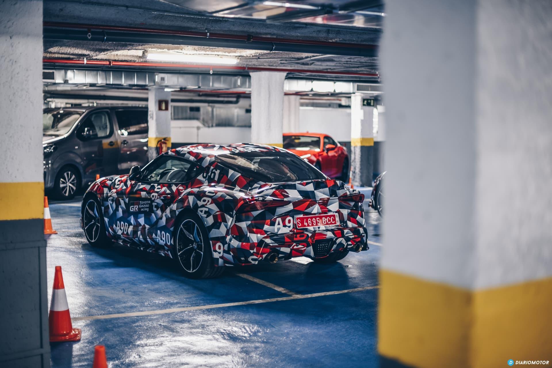 Toyota Supra Prueba 41