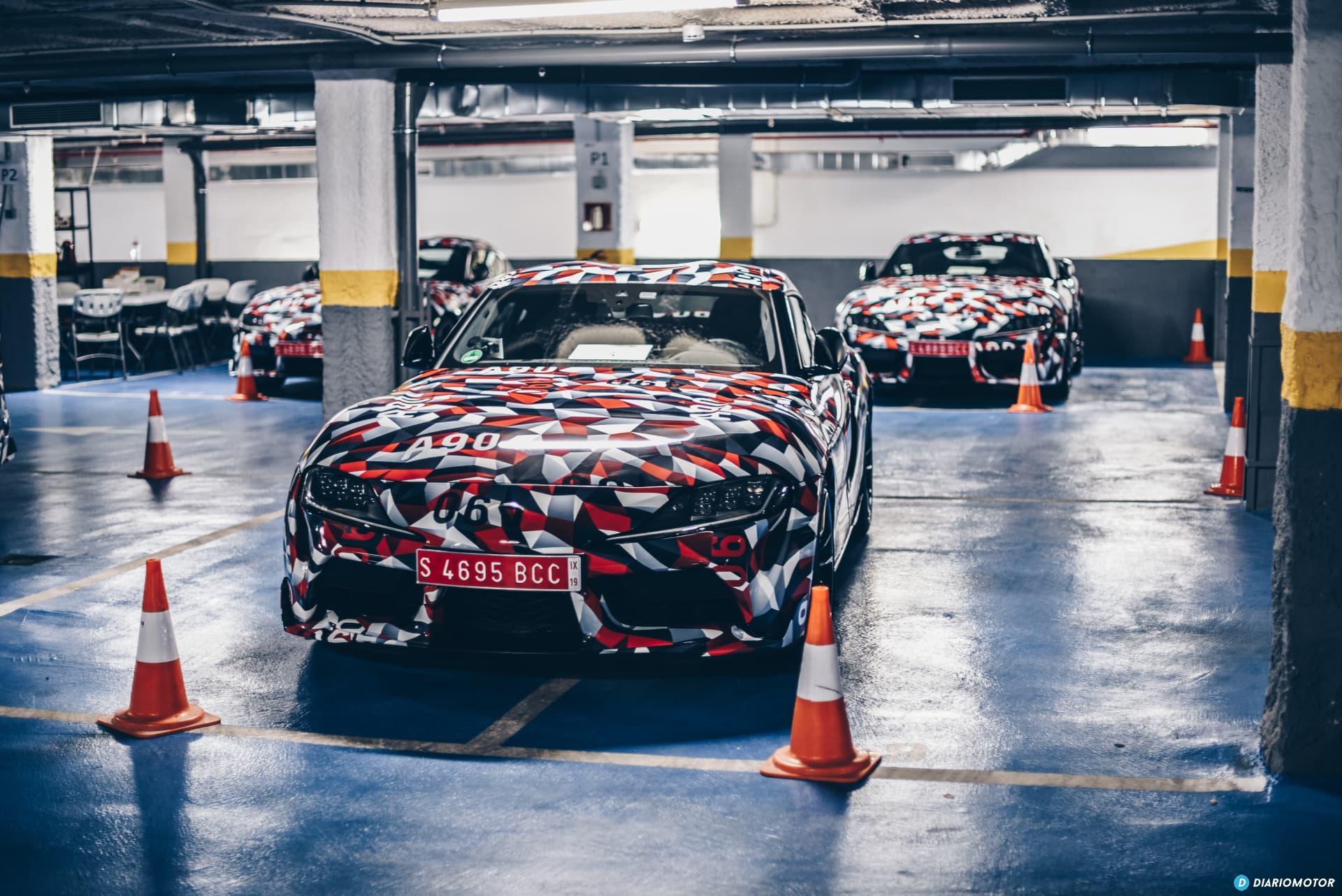 Toyota Supra Prueba 42