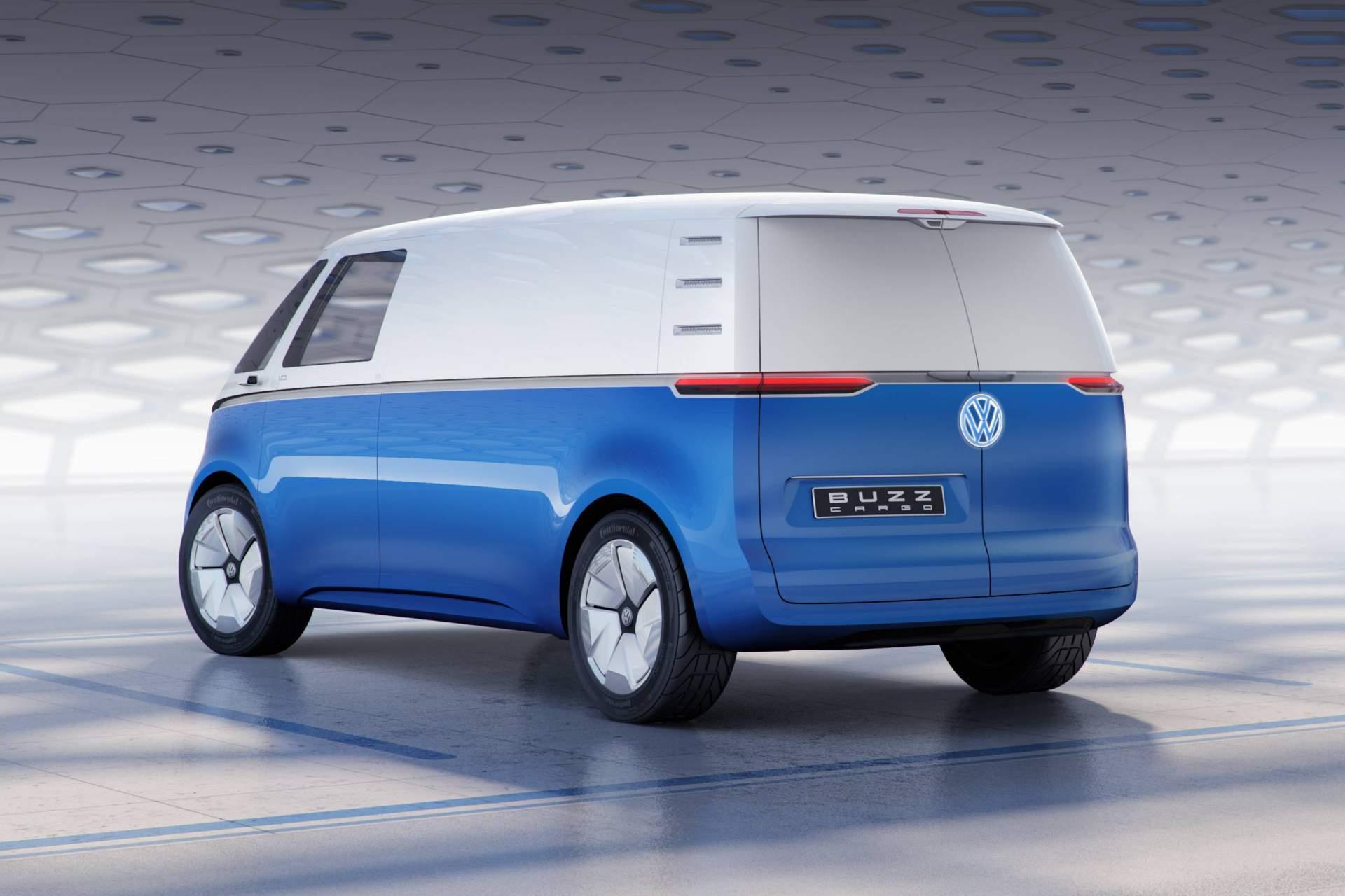 Volkswagen Id Cargo Concept2