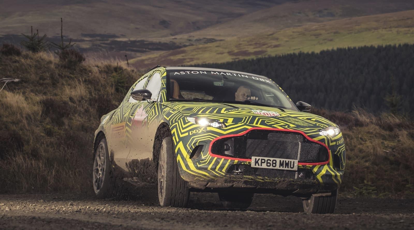 Aston Martin 5th / 6th November 2018 Photo: Drew Gibson