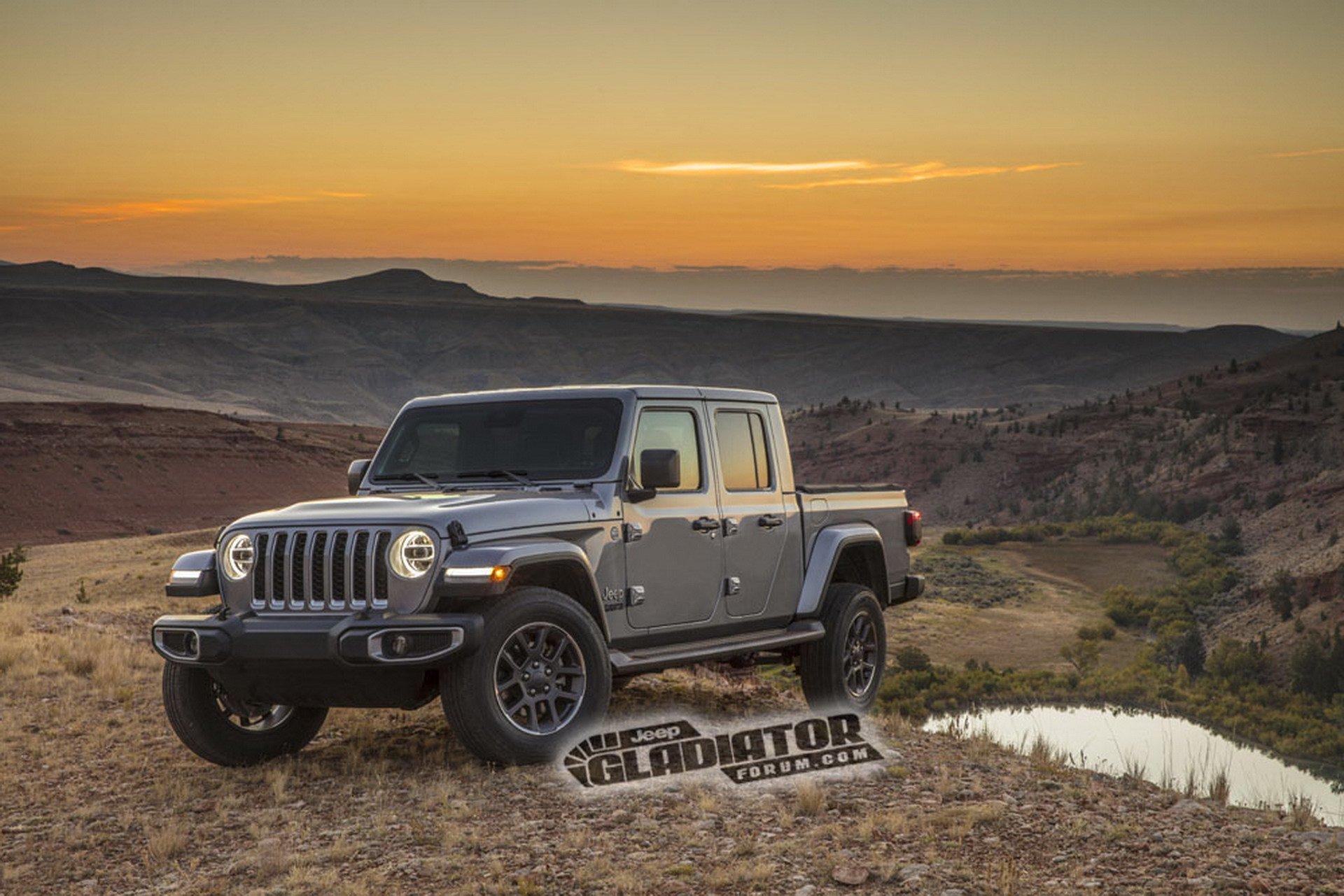 Jeep Gladiator Wrangler Pick Up Dm 1
